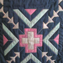 Southwestern Table Runner Hand Painted