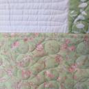 Summer Breeze Quilt Full Queen 81x91 Sage Green White