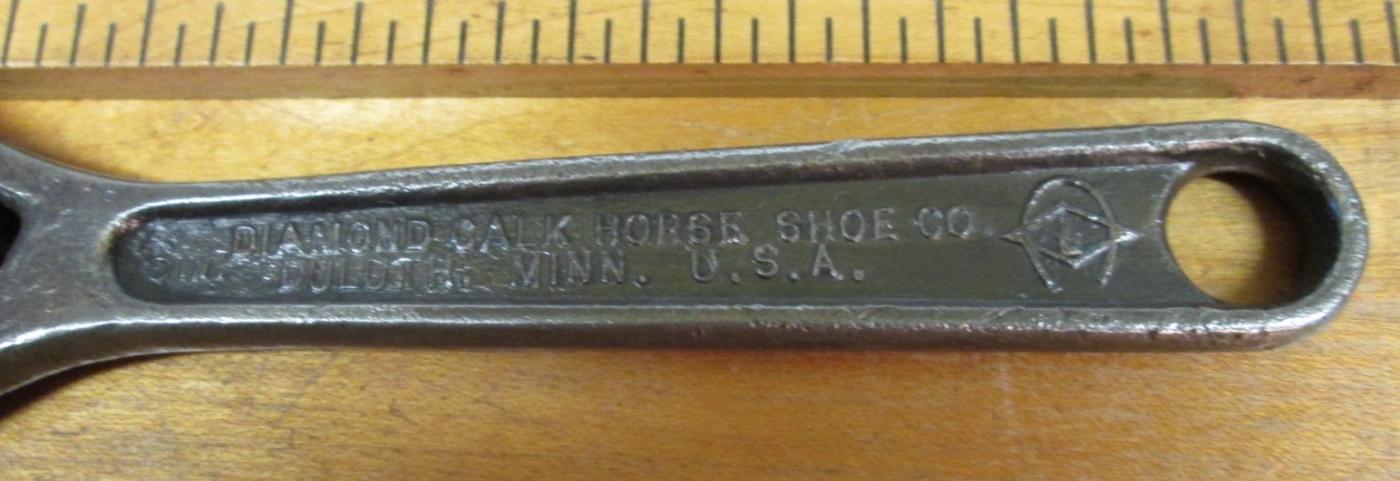 Diamond Horseshoe 6 inch Adjustable Wrench
