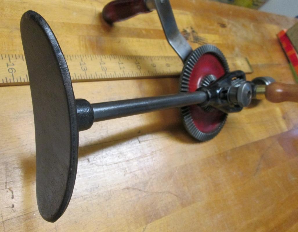 Mohawk Shelburne Breast Drill 2-Speed Millers Falls