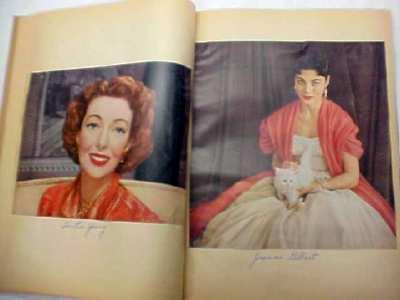 Movie Star Scrap Book 1950's
