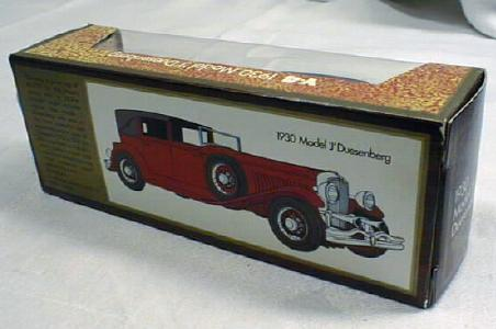 Matchbox 1930 Model 'J' Duesenbury Y-4 MIB