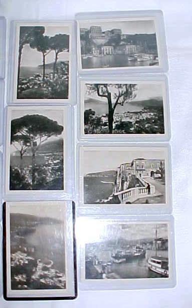 Photo Postcards Miniature Sorrento Italy 16 PC
