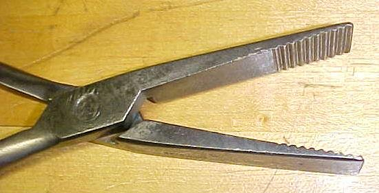 Schul-Sons Duck Bill 10 inch Pliers Leather & Canvas