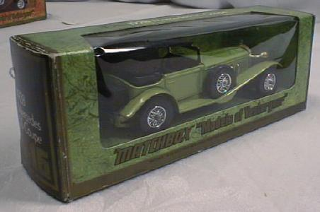Matchbox 1928 Mercedes SS Coupe Y-16 MIB