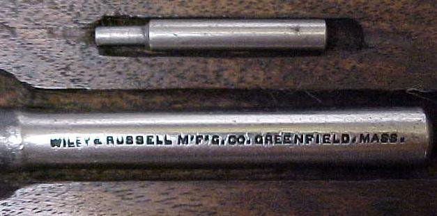 Wiley & Russell Tap & Die Stock Set w/Case Small Sizes!