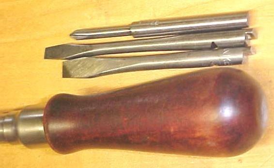 North Bros. Yankee Spiral Ratchet Screwdriver No. 20-2 Rare!