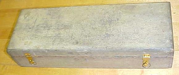 G.I. MIX Socket Chisel Set Wood Box Only  Rare!