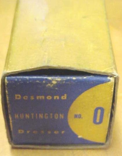 Desmond Grinding Wheel Dresser w/ original Box
