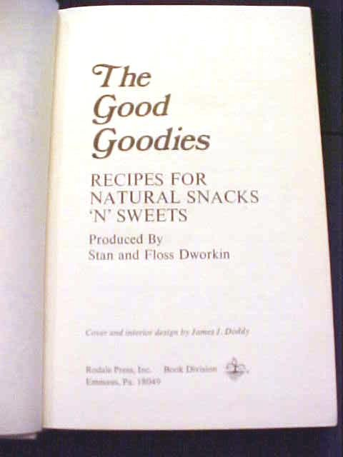 The Good Goodies 1974 Stan & Floss Dworkin