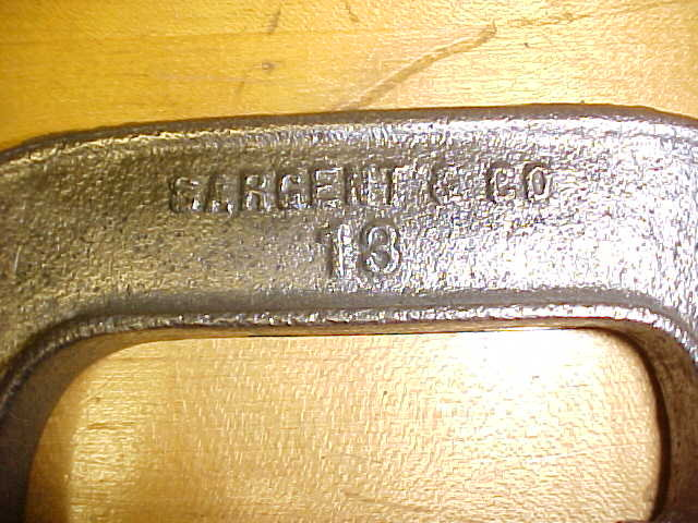 Sargent 3 inch C-Clamp w/Wing Screw Heavy Duty