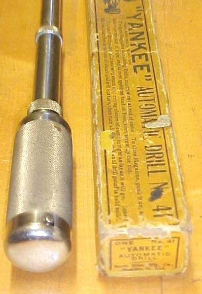 North Bros. Automatic Yankee No. 41 Push Drill w/Box