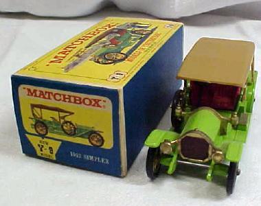 Matchbox 1912 Simplex No. Y-9 MIB