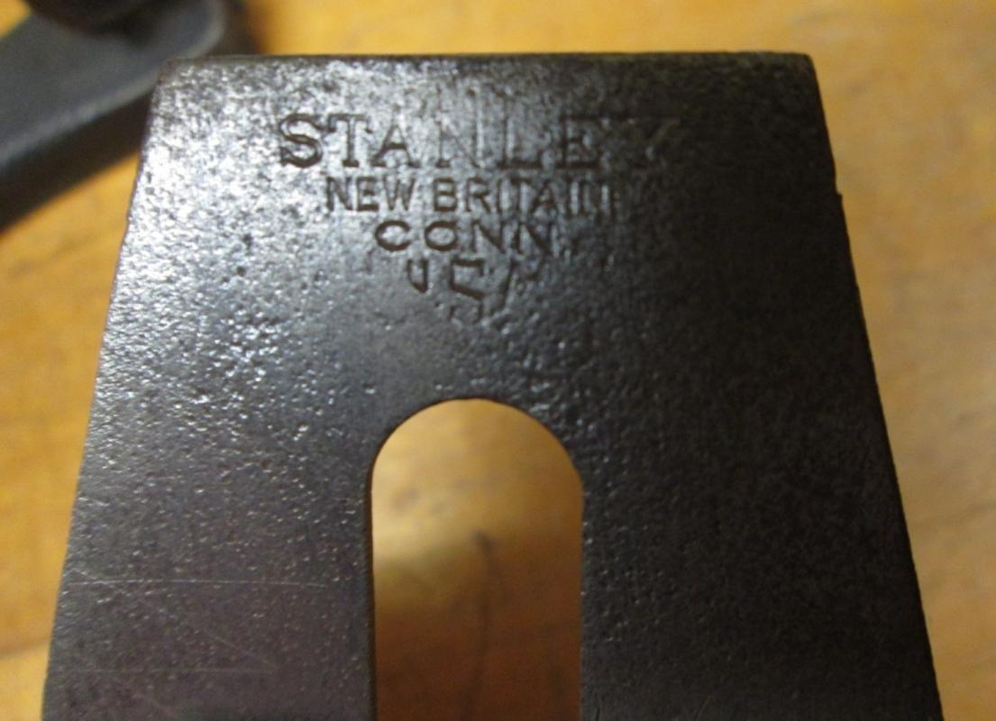 Stanley No. 35 Smooth Wood Bottom Plane