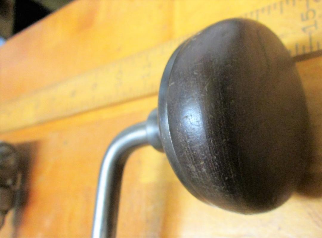 Peck, Stow, & Wilcox Ratchet Brace 10 inch Swing No. 7010