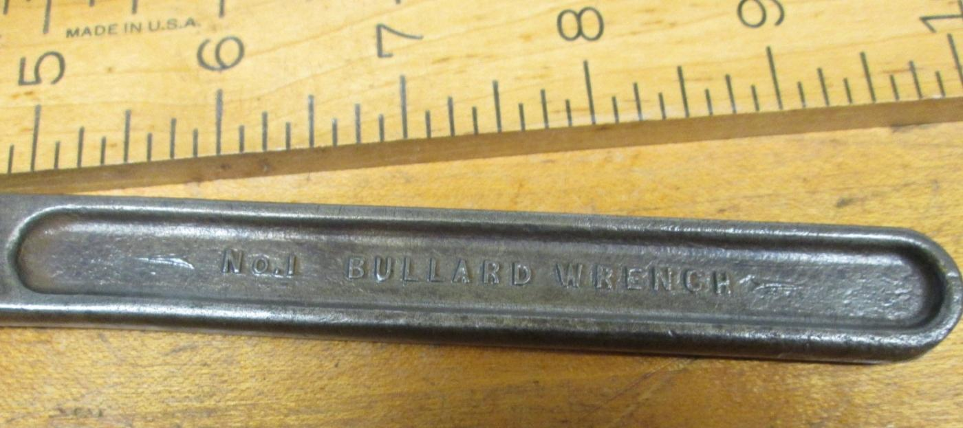 Bullard Automatic Pipe Wrench No. 1
