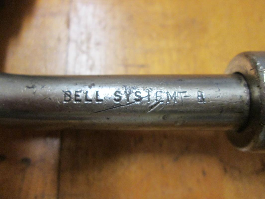 Stanley Ratchet Brace No. 2101A-10IN 10 inch Bell System