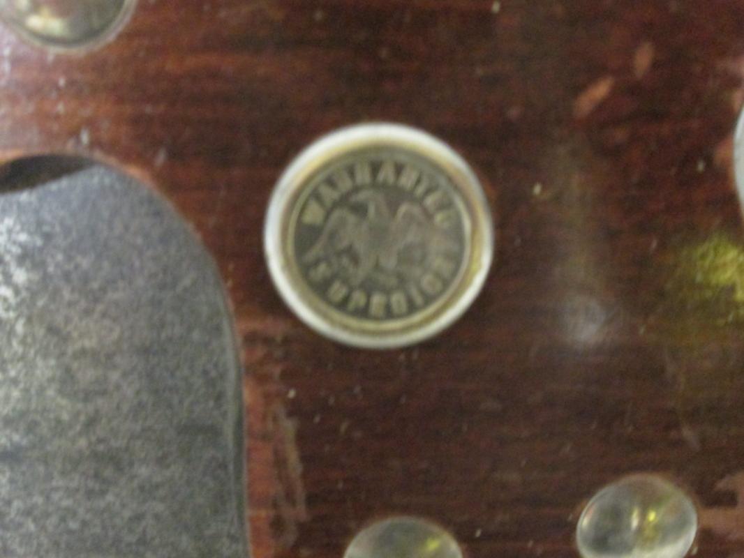Antique Rip Hand-Saw Eagle Medallion 5 1/2 TPI