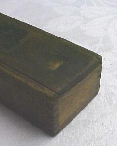 Clearcut Files Wood Advertising Box