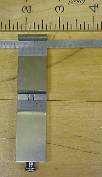 Vernier Depth Gage Gauge w/ Fitted Case Unique!