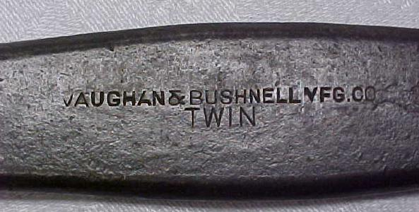 Rare Vaughan & Bushnell Twin Alligator Wrench