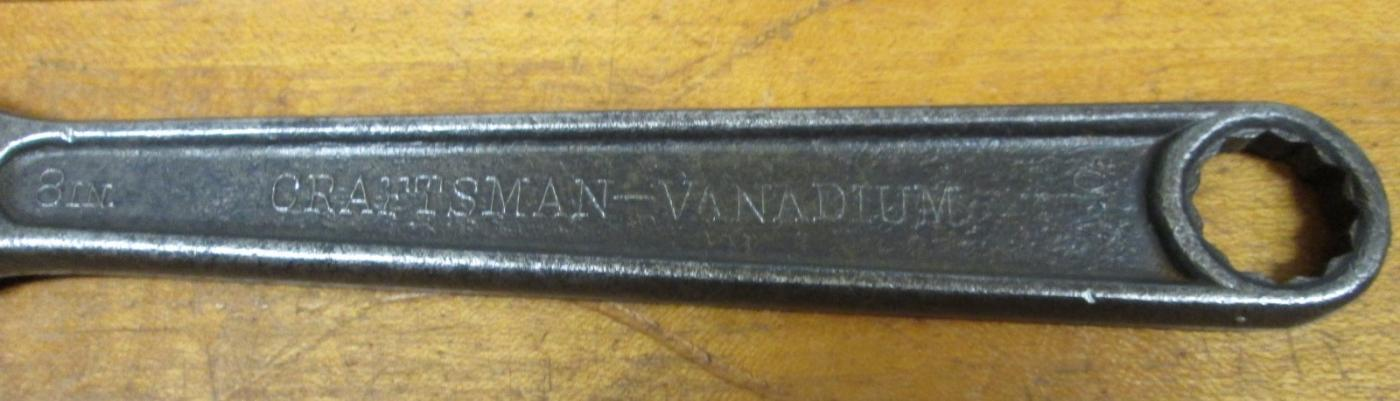 Craftsman Adjustable Wrench 8 inch VANADIUM