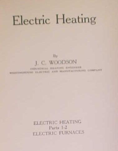 Electric Heating & Illumination 1939 International Textbook 2 Volumes