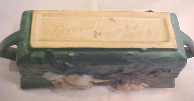 Roseville Magnolia Planter Dbl Hdls 388-6 CA 1943
