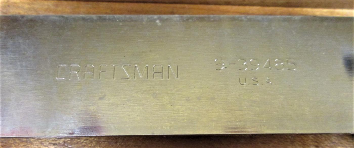 Craftsman T-Bevel Gauge No. 9-39485 Gage