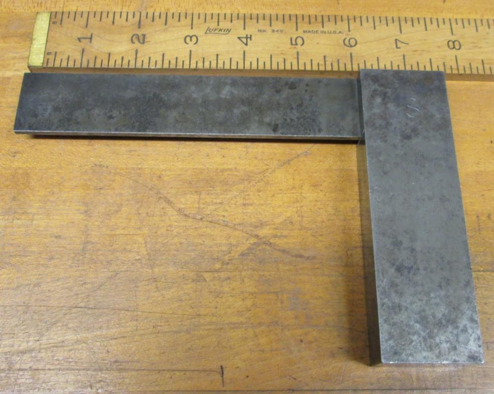 Vintage Solid Square 8 inch