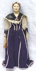China Doll 1800's Ethnic Outfit Rare