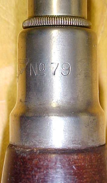 Millers Falls No. 79 Yankee Push Drill w/7 bits Rare!