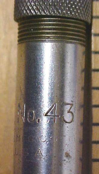 North Brothers Yankee No. 43 Push Drill w/7 Bits