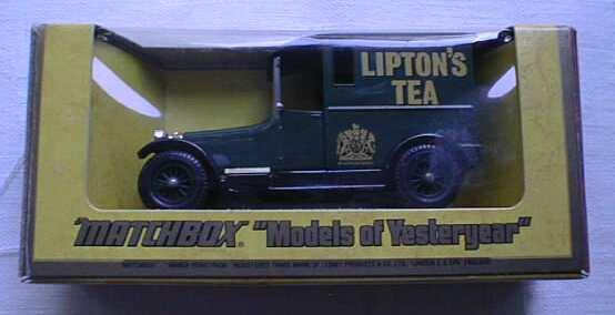 Matchbox Y 5 Talbot Van MIB