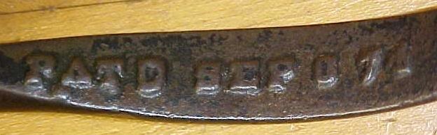 Hog Nose Ring Pliers Hog Ringer Patent 1874