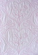 Quilt Sweetheart Red Rose 50 x 55