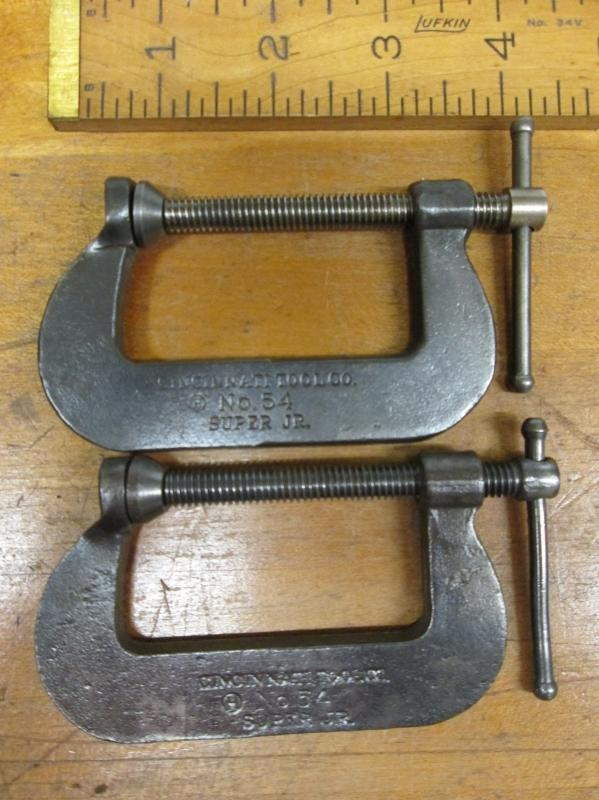 Cincinnati C-Clamp Super JR. No. 54 2.0 inch
