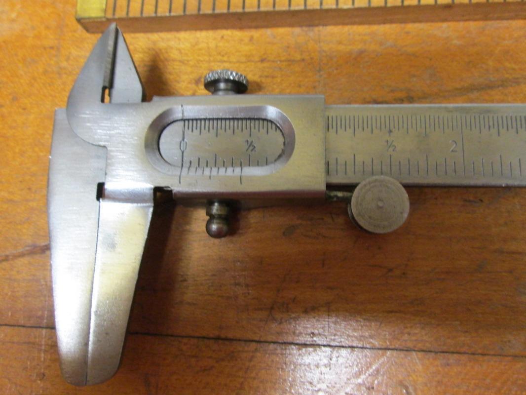 Vernier Caliper Made in West Germany 5 inch