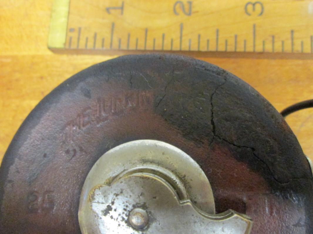Lufkin Metallic Leather Tape Measure 25 Foot