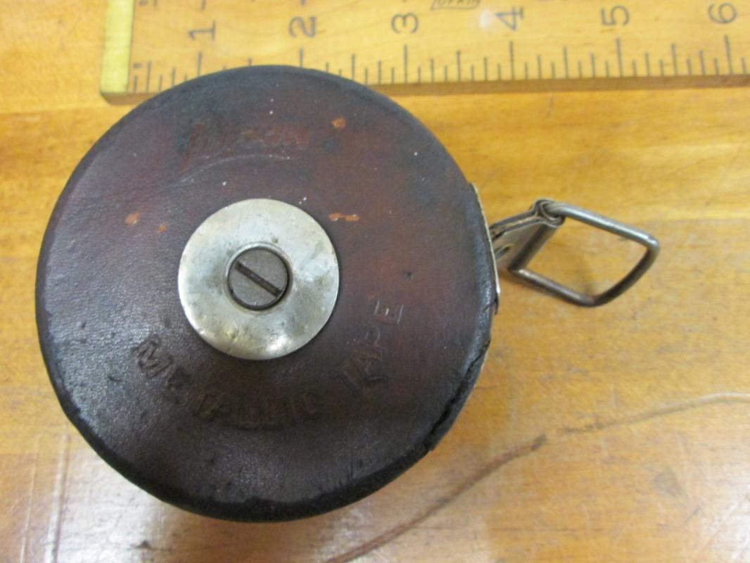 Lufkin Metallic Leather Tape Measure 25 Foot