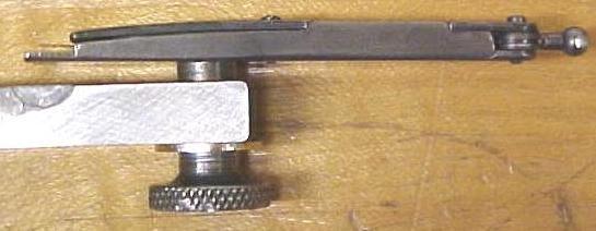 Ideal Tool Co. Indicator Precision + Holder Antique