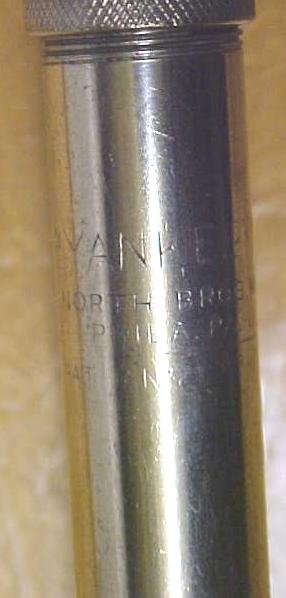North Bros. Yankee No. 41 Push Drill w/8 Bits