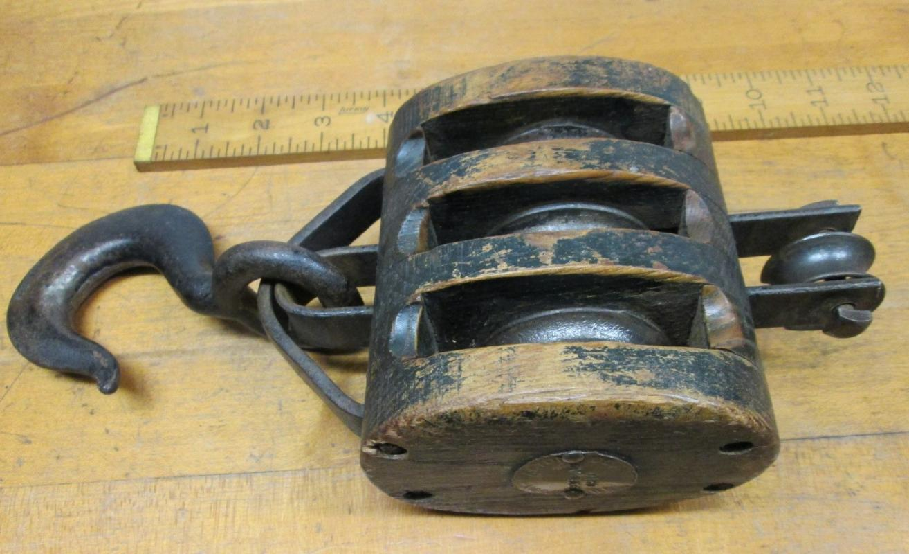 Upson Rope Pulley Block & Tackle Triple