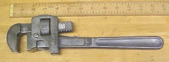 Ben Hur Pipe Wrench Antique 14 inch Van Camp