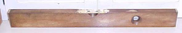 Disston Morss Plumb Level 1878 Patent 30 inch