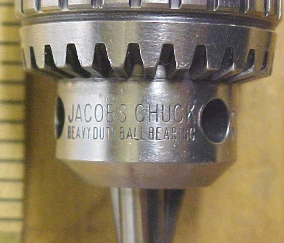 Jacobs Drill Chuck No. 8-1/2N Ball Bearing Super 0-1/4 Precision