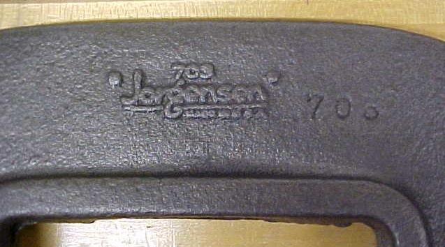 Jorgensen 3 inch Heavy Duty C-Clamp No. 703 Vintage