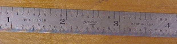 Lufkin Flex Rule 6 inch No. C-2105R