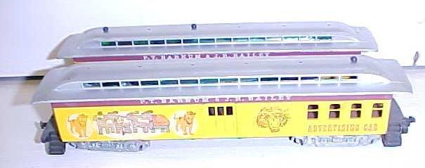 Train Cars HO Scale Barnum & Bailey (3) Cars