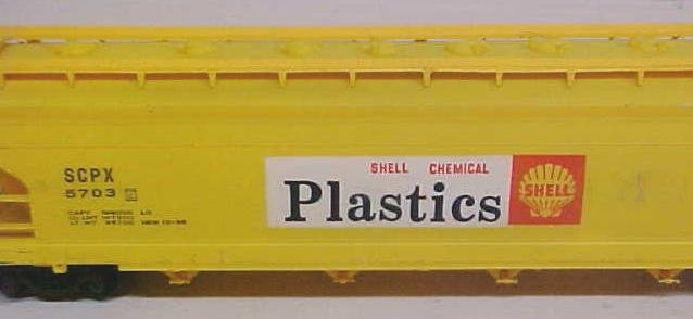 Train Cars HO Shell Plastics Box Car